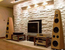 Luxurious & Charming Stone Background Wall Decoration - Info ...