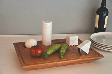 Innovative Kitchen Utensils with Natural Stone