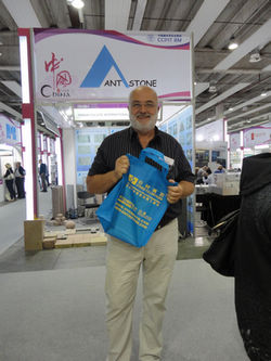 Amazing Time at 2012 MARMOMACC