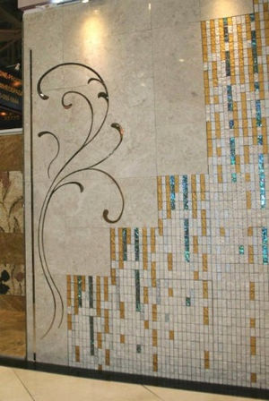 Magic of Stitching in Marble mosaic