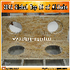 Kashmir Gold Granite Bathroom countertops