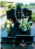 Poland Granite Tombstone Monument Headstone