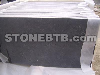 Black limestone slab