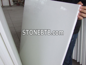 Crystallized Stone White Artificial Stone