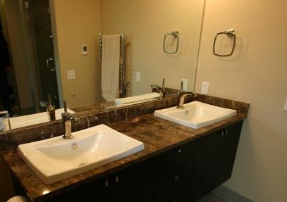 Etonnant Bathroom Laminate Countertops