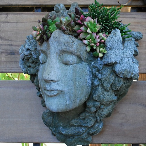 Lovely Face Planters