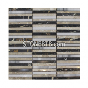 Mixed Color Stone Mosaic