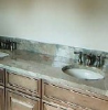 Beige Marble Bathroom Tops