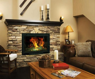 Comparison of Various Fireplaces