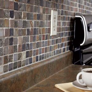 Perfect Application Of Mosaic Tile In Kitchen Amp Bathroom