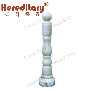 Natural Jade Stone King Column (SJ-919)
