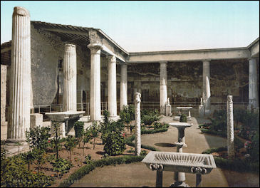 History of Natural Stone Applications in Roman