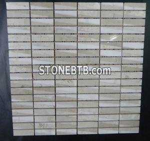 Polished Square Shape Wholesale Mosaic Tiles