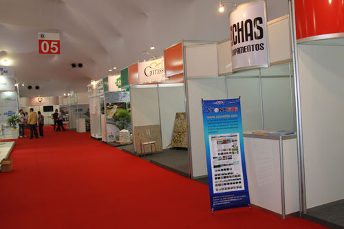 Our Stands in Vitoria Stone Fair
