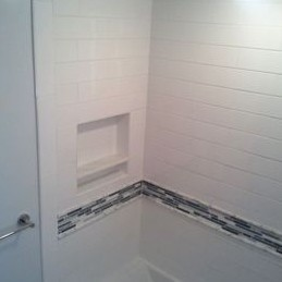 How To Cut Bathroom Border Tiles
