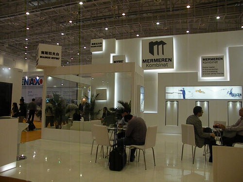 Professional Marble Exhibitor