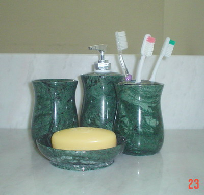 Product Protection of Tropical Green Marble