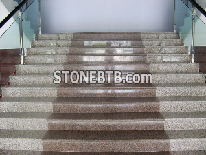 Outdoor Granite Steps
