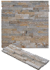 Slate ledgestone wall panels