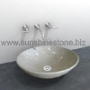 marble sink and basin