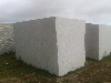 White Amanecer Granite Block
