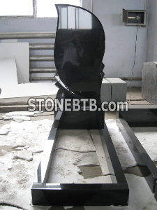 Shanxi Black Tombstone - Russian Style