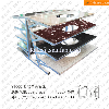 ST005 Multi tiler Steel Vanity Top Stone Display Stand Rack
