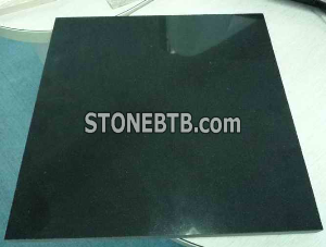 Black basalt polishing slab