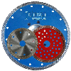Sintered turbo saw blade