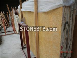 imperial gold slab,yellow marble