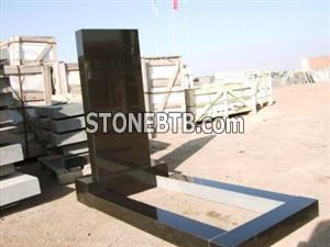 Shanxi Black Tombstone Russian Style