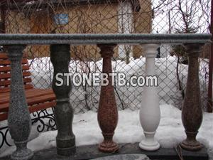 Granite, Marble gabbro for sale- Balustrade