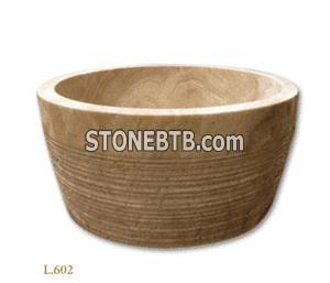 Limestone Wash Basin