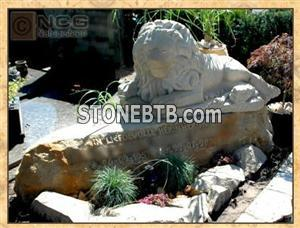 Exclusive monuments, carved sandstone