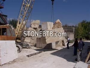 Beige Travertine Armenia Blocks