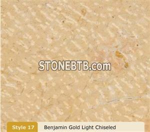 Benjamin Gold Light Chiseled