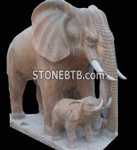 stone carving - animal statue