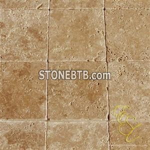 Chiseled - Demmer Noce Tumbled Travertine