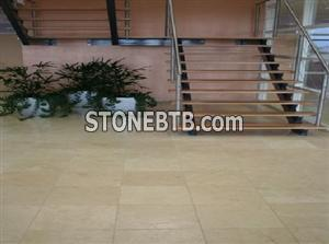 Crema Golden Marble Flooring