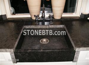 Belgian bluestone sink