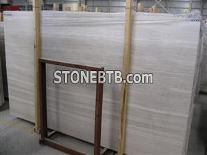 White Grains Limestone Vein Cut Slabs
