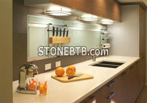 Worktops from the natural stone and quartz