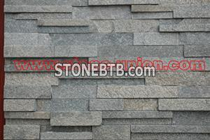 Pink quartzite, culture stone, stacked stone