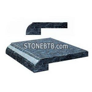 china granite and marble edge treatment