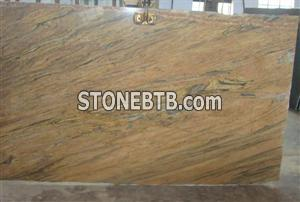 New Gold Granite ,Prada gold Granite Slabs