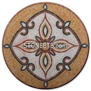 Marble Mosaic Medallions
