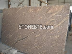 Giallo California Granite Gangsaw Big Slabs
