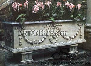 Flower pot granite