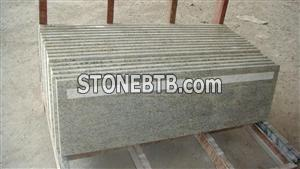 Kashmir White Granite Stone Stairs