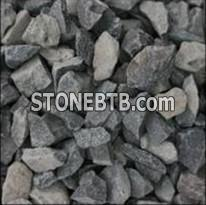 Yellow crushed stone